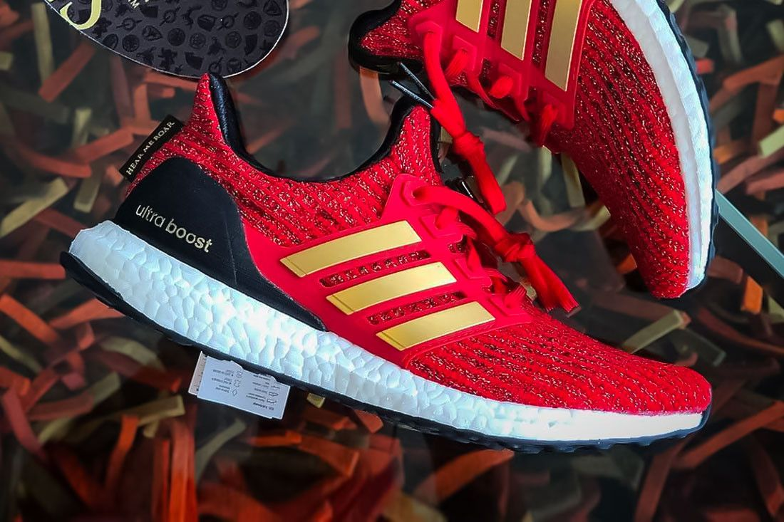 a0511673a Game Of Thrones adidas UltraBOOST Lannister red sneaker hbo 2019 First Look  GoT