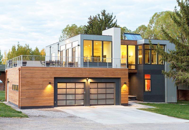 Gu a casas modulares 2 plantas precios lujo arquitecto - Precio de casas prefabricadas de hormigon ...