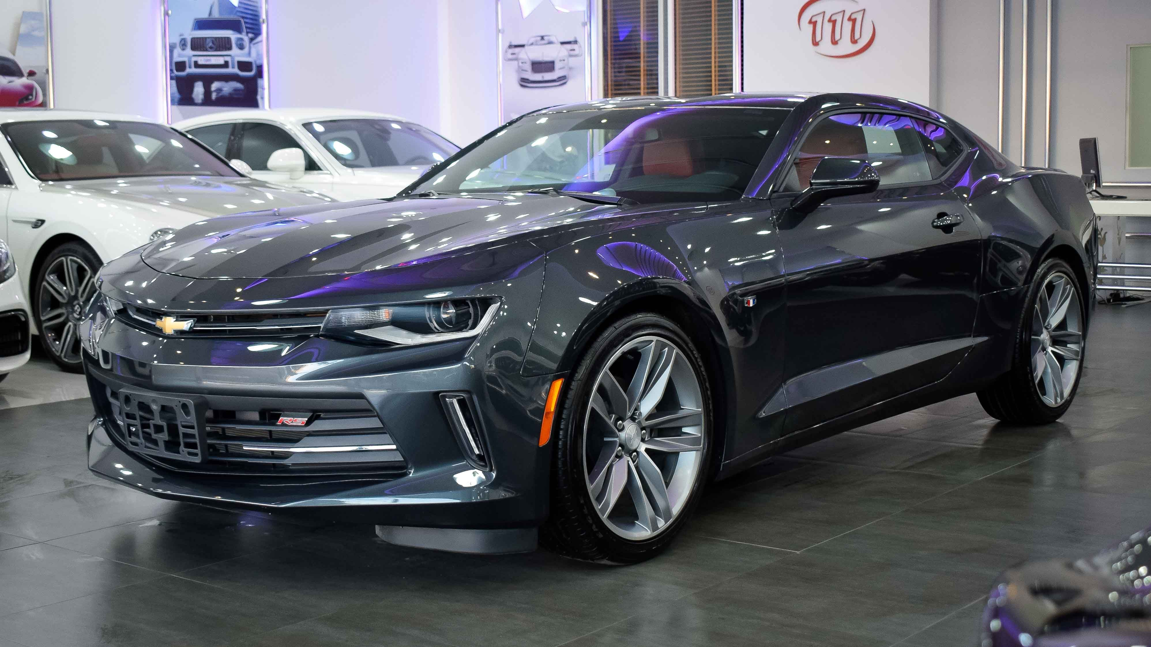 Model Chevrolet Camaro Rs V4 Turbo Year 2018 Color Grey Km 0