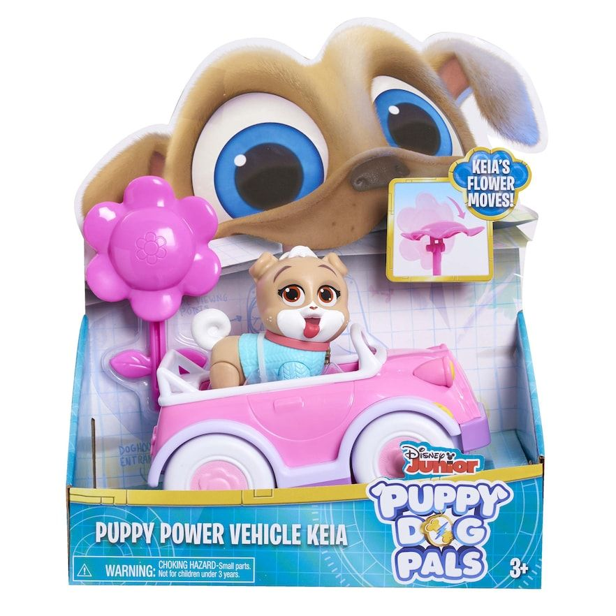 Disney S Puppy Dog Pals Puppy Power Vehicle Keia In 2020 Little Girl Toys Dogs And Puppies Baby Girl Toys