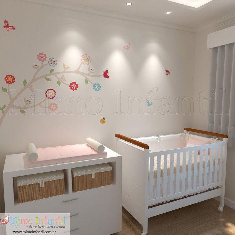 Adesivo de parede para decoração de quarto de bebê e infantil  SP,BH, MG, RJ