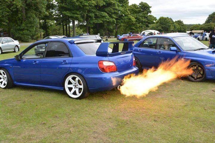 You Guta Love Anti Lag Back Fire.