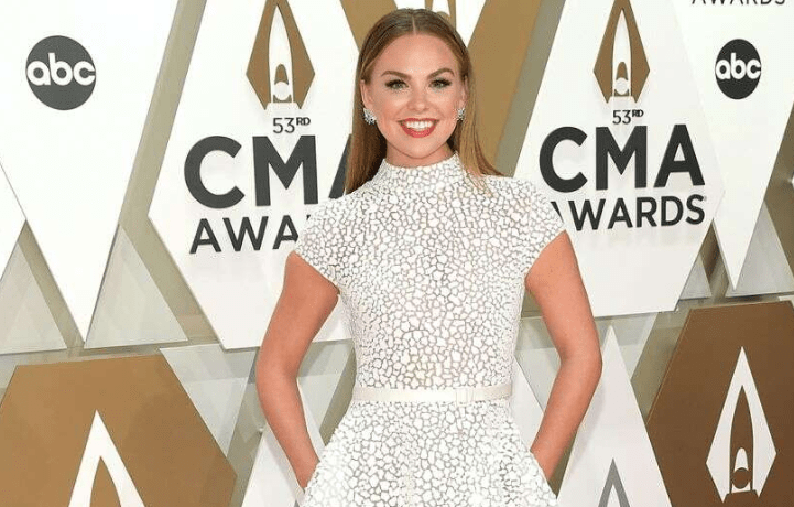 Hannah Brown Is 'Manifesting' a 'DWTS' Win With Mirrorball Inspired Dress #dancingwiththestars