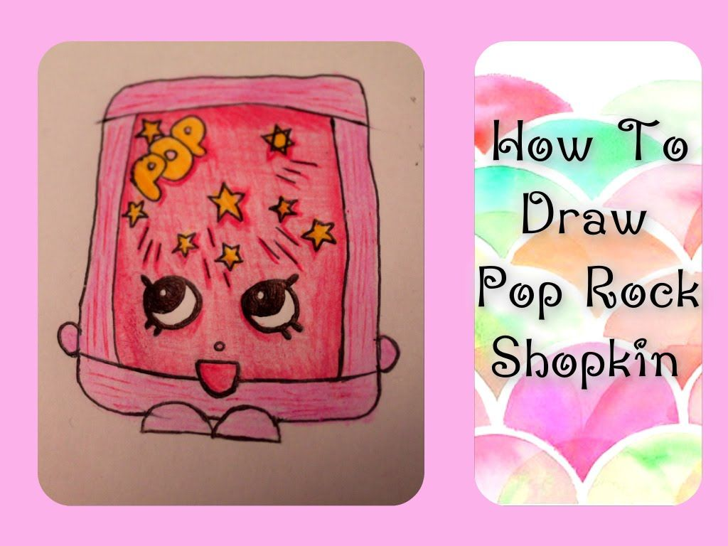 how to draw shopkins kooky cookie step by step easy youtube