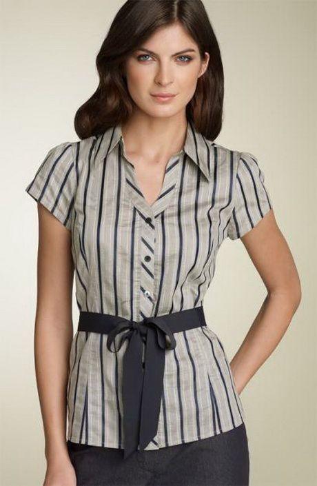 51e5ca224add Blusas de vestir | blusas | Blusa vestido, Blusa ejecutiva y Blusa ...