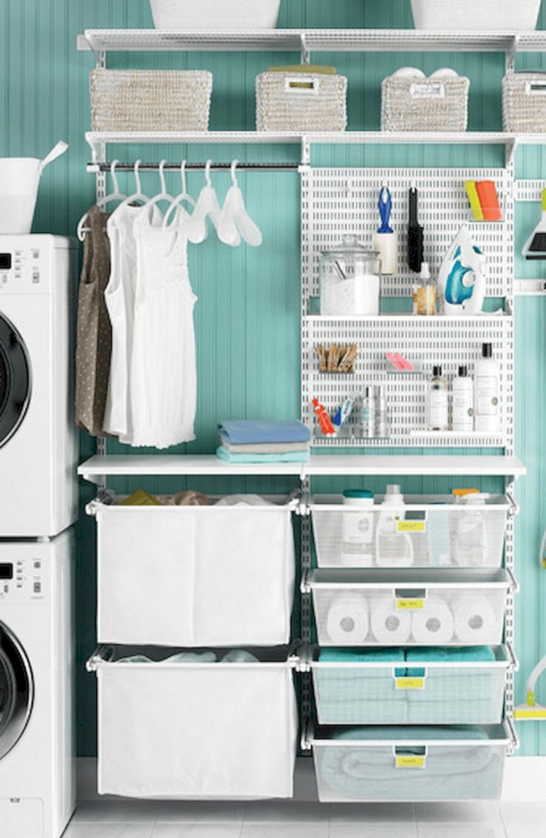 23 Marvelous Laundry Room With Best Storage Ideas  Great Idea 23 Marvelous Laundry Room With Best Storage Ideas