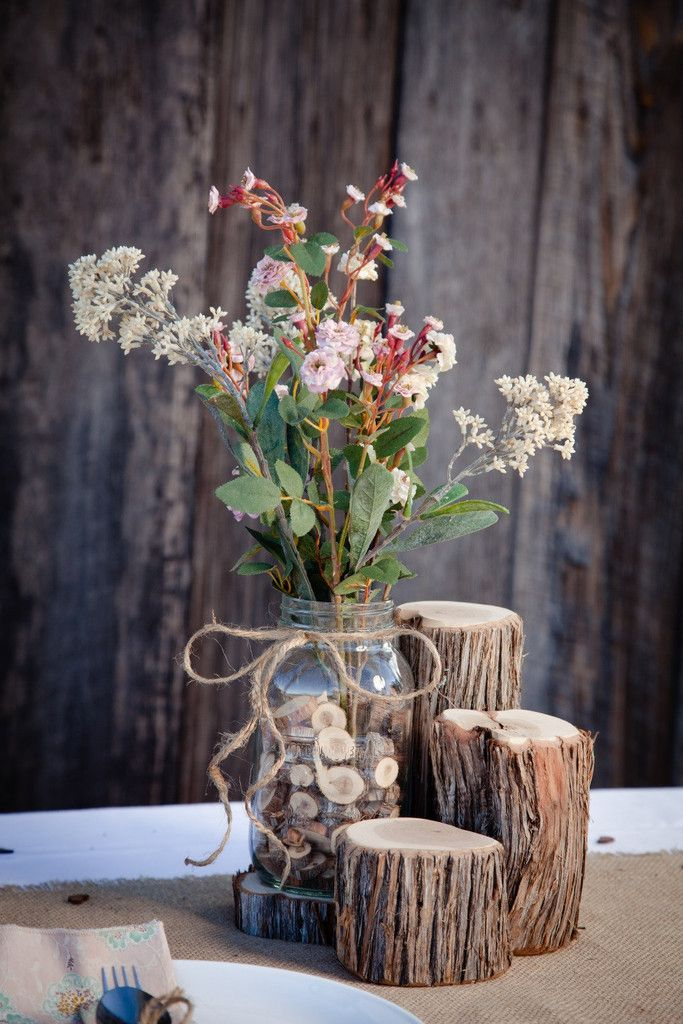 pictures of wedding centerpieces using mason jars%0A     with our centerpiece package  We have put together a complete  centerpiece array for your wedding tables  All you have to do is supply the mason  jars or