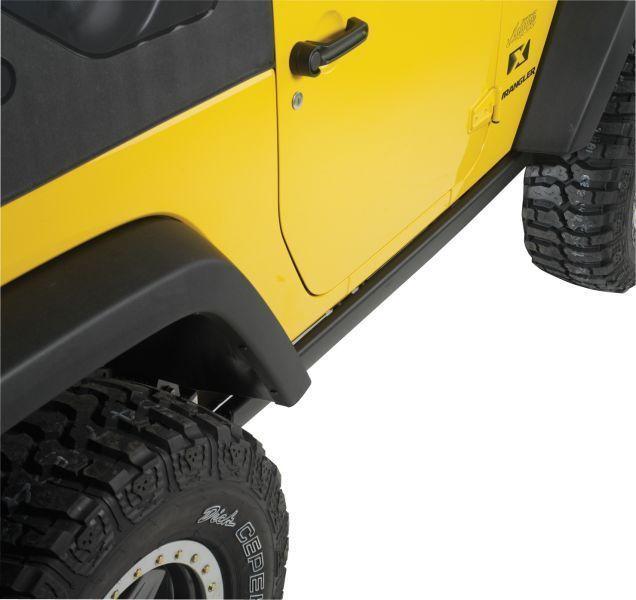 2007 2015 Jeep Wrangler 2 Door Black Production Rubicon Rock Rails Mopar Oem New Jeep Wrangler Jeep Wrangler Jk Mopar