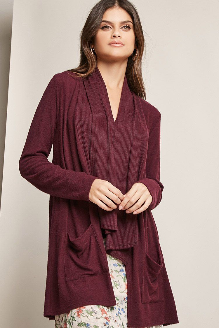 womens cardigan products front draped women collections drapes open sweaters sweater alfani s rennde