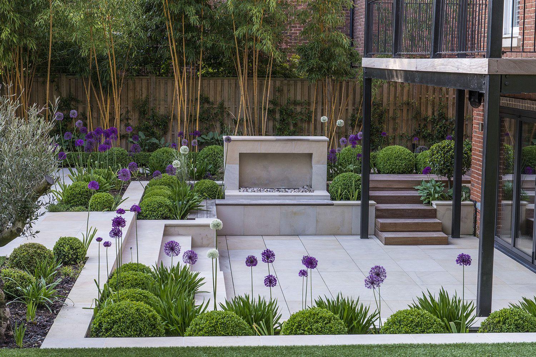 Kate Gould Gardens - Contemporary Garden Design Twickenham #contemporarygardendesign