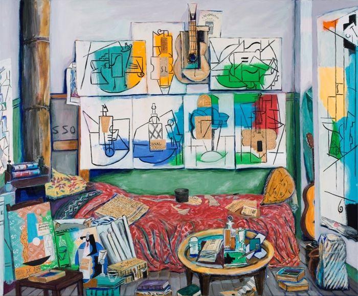 Picasso's+Studio+(Blvd+Raspail,+1912)