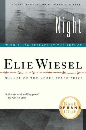 Interviews Night By Elie Wiesel Night Book Elie Wiesel