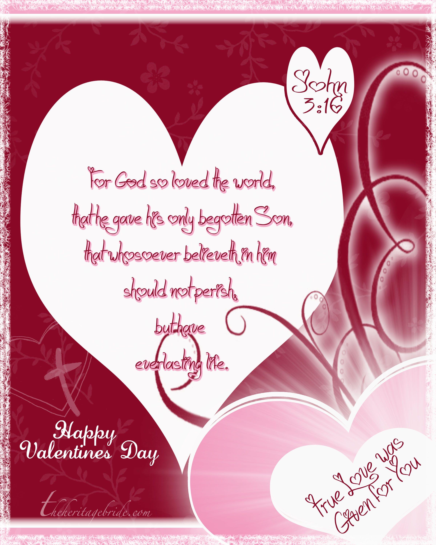 John 3 16 Valentines Day John3 16 Valentine