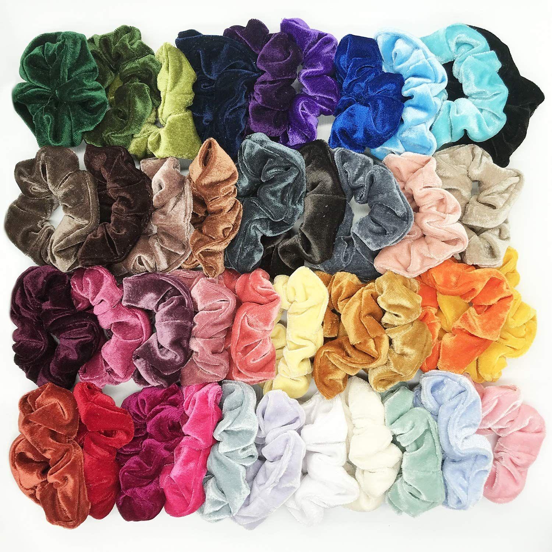 GIRLS//WOMENS ROSE FLOWER HAIR ELASTIC BOBBLES HAIRBANDS ROSE HAIR ELASTIC BANDS