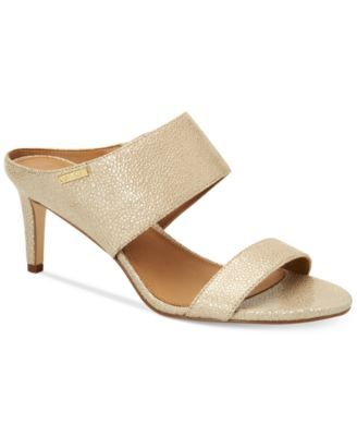 7b931b9dec2 CALVIN KLEIN Calvin Klein Women s Cecily Wide-Strap Sandals.  calvinklein   shoes   sandals