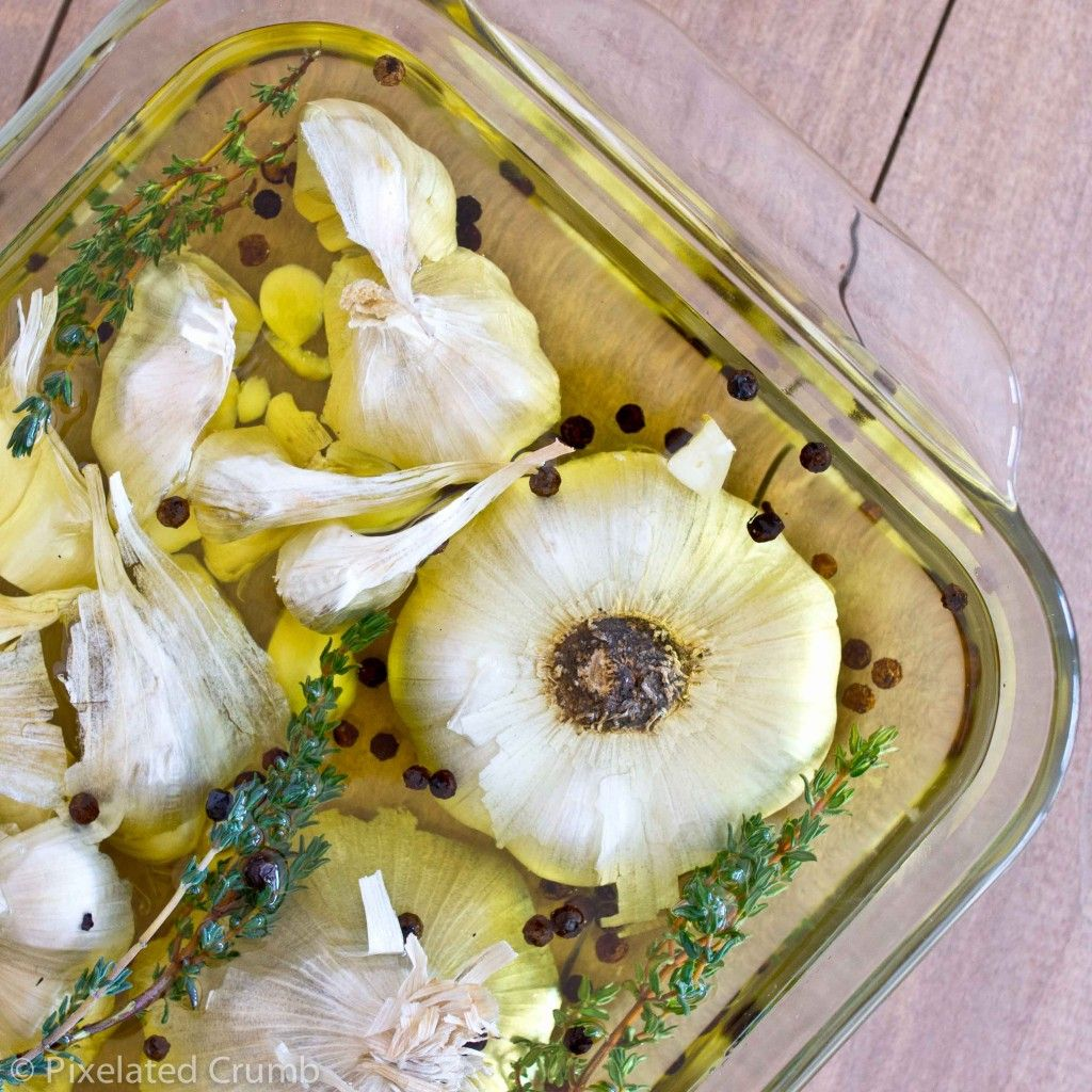 Roasted Garlic Olive Oil  - olive oil recipes curated by SavingStar Grocery Coupons. Save money on your groceries at SavingStar.com
