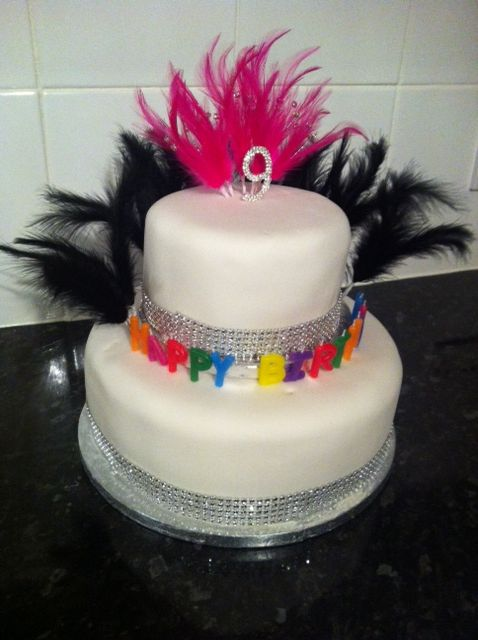 Birthday Cake For A Special Nine Year Old Girl For Desi