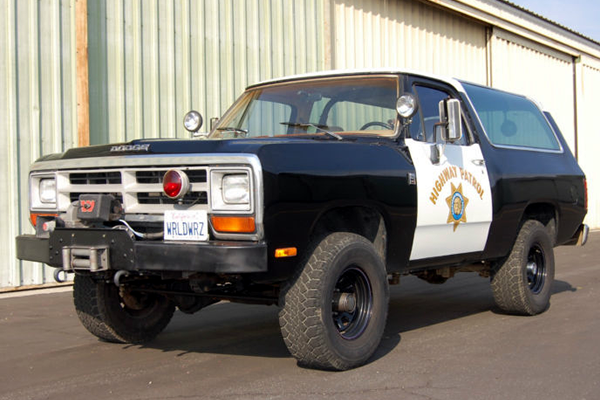 For Sale 1989 Chp Dodge Ramcharger Awesome Police Vehicles