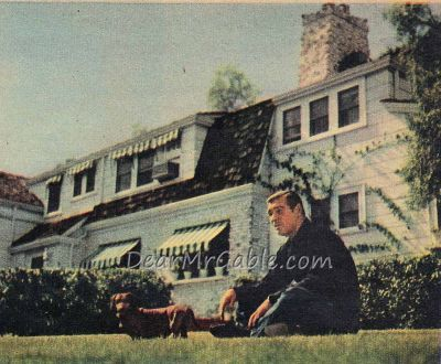 Clark Gable Gable Hollywood Homes Clark Gable