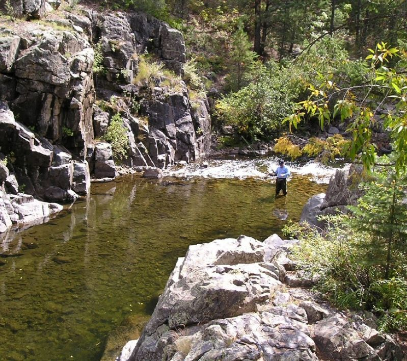 Pecos river new mexico fishing spots mywebtravelagent for Fly fishing spots near me