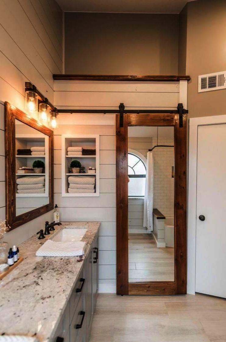Bathroom Ideas For Apartment Outside Bathroom Fitters Near Me Many Bathroom Ideas Bathroom Farmhouse Style Farmhouse Master Bathroom Modern Farmhouse Bathroom