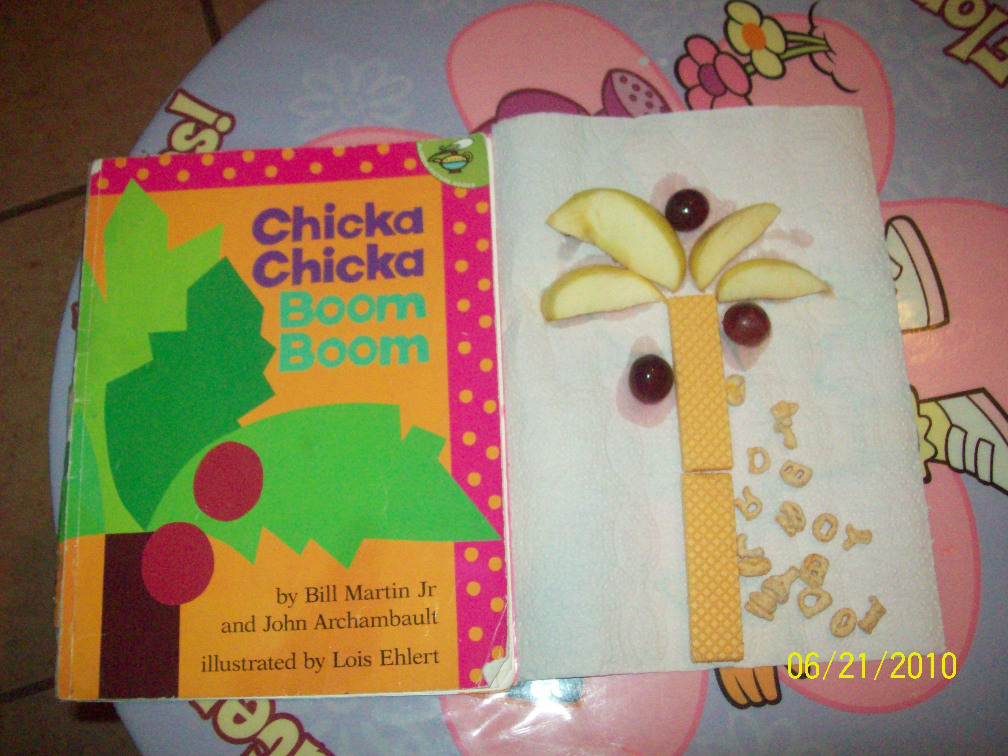 After Reading The Story Chicka Chicka Boom Boom We Did A