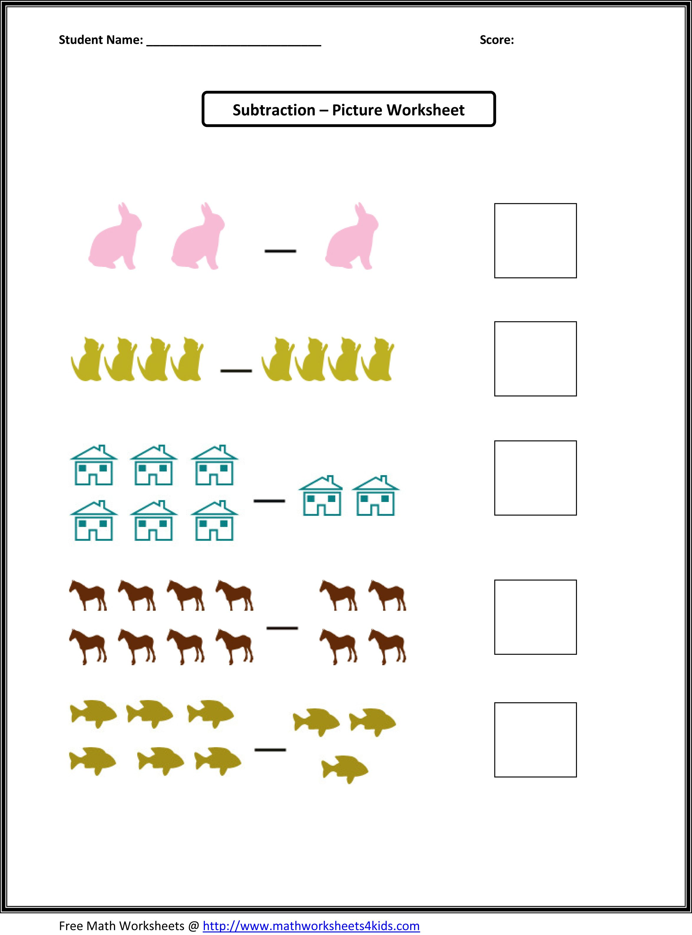 Kindergarten worksheets shapes worksheets set of picture picture math worksheets are available for you who want to test your students or childrens knowledge in math exercises robcynllc Images