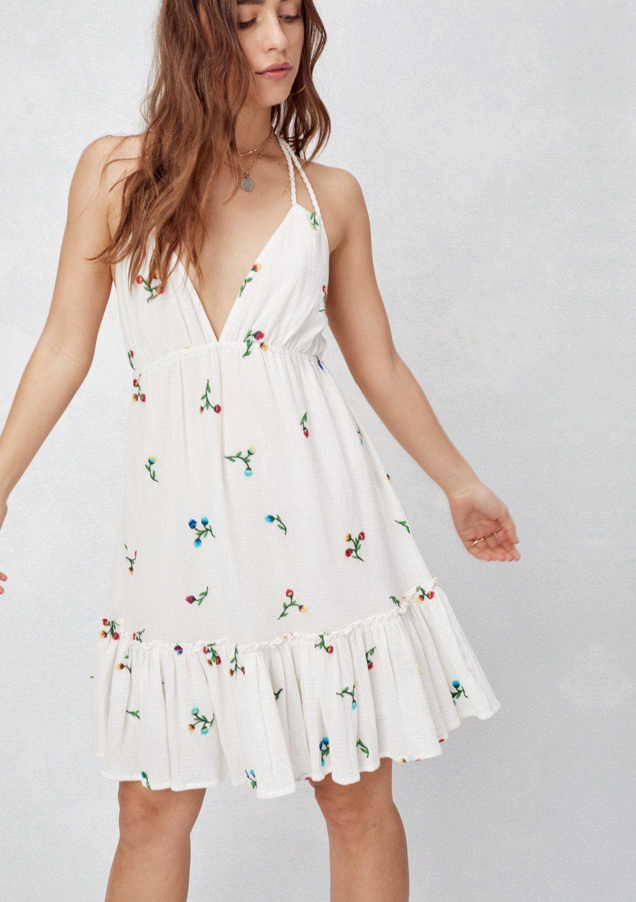 Liliya Mini Dress Lovestitch In 2021 Cotton Dress Summer Casual Dresses For Teens White Cotton Summer Dress [ 1760 x 1240 Pixel ]