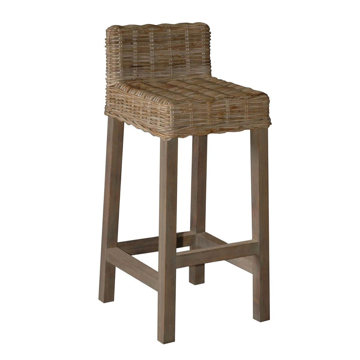 Rattan bar stool | Bahia ave | Pinterest