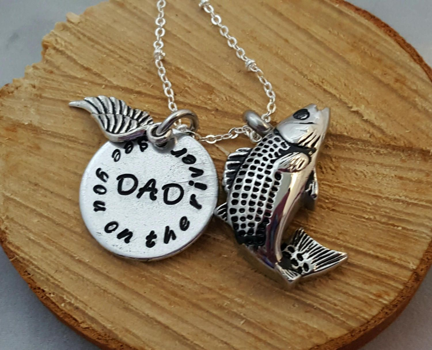 Fishing in heaven fish cremation urn necklace cremation for Fish cremation jewelry