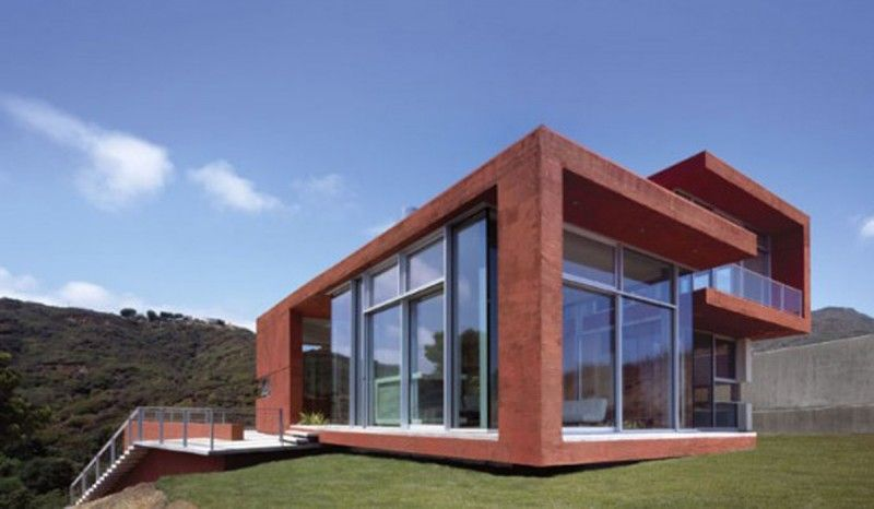 Red Brick House Architecture Modern Architecture House Brick Architecture Brick House Designs