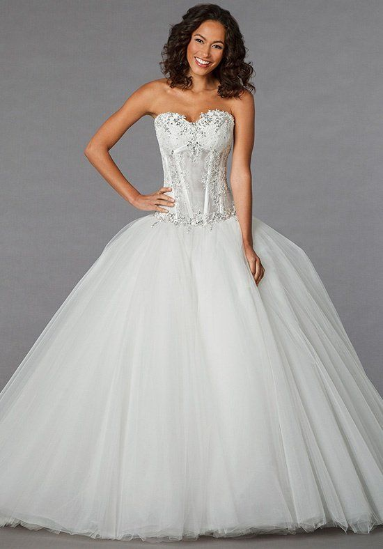 Simple Pnina Tornai for Kleinfeld Wedding Dresses