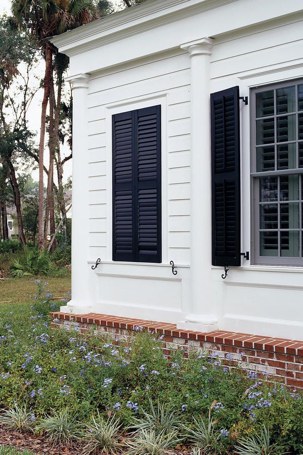 Ordinaire Just Fake It   Stylish Window Shutters   Southernliving. Guess Whatu0027s  Behind These Closed Shutters