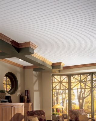 beadboard ceiling planks & panels | armstrong | haven - master bed
