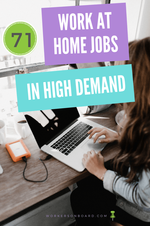 71 Work At Home Jobs In High Demand Working From Home Work From