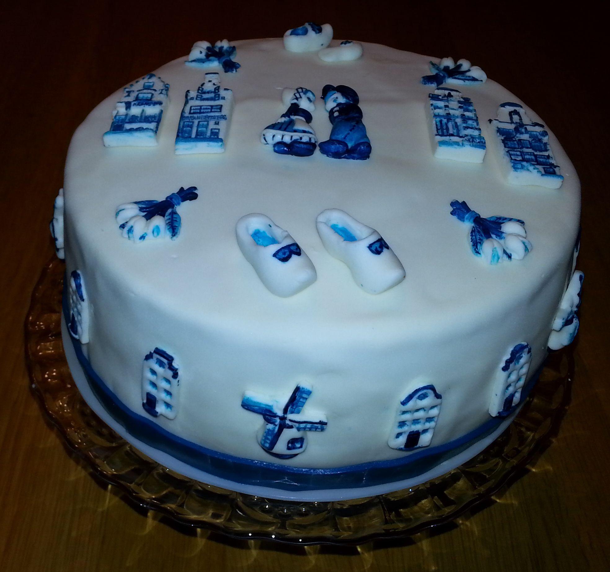 verjaardagstaart delft