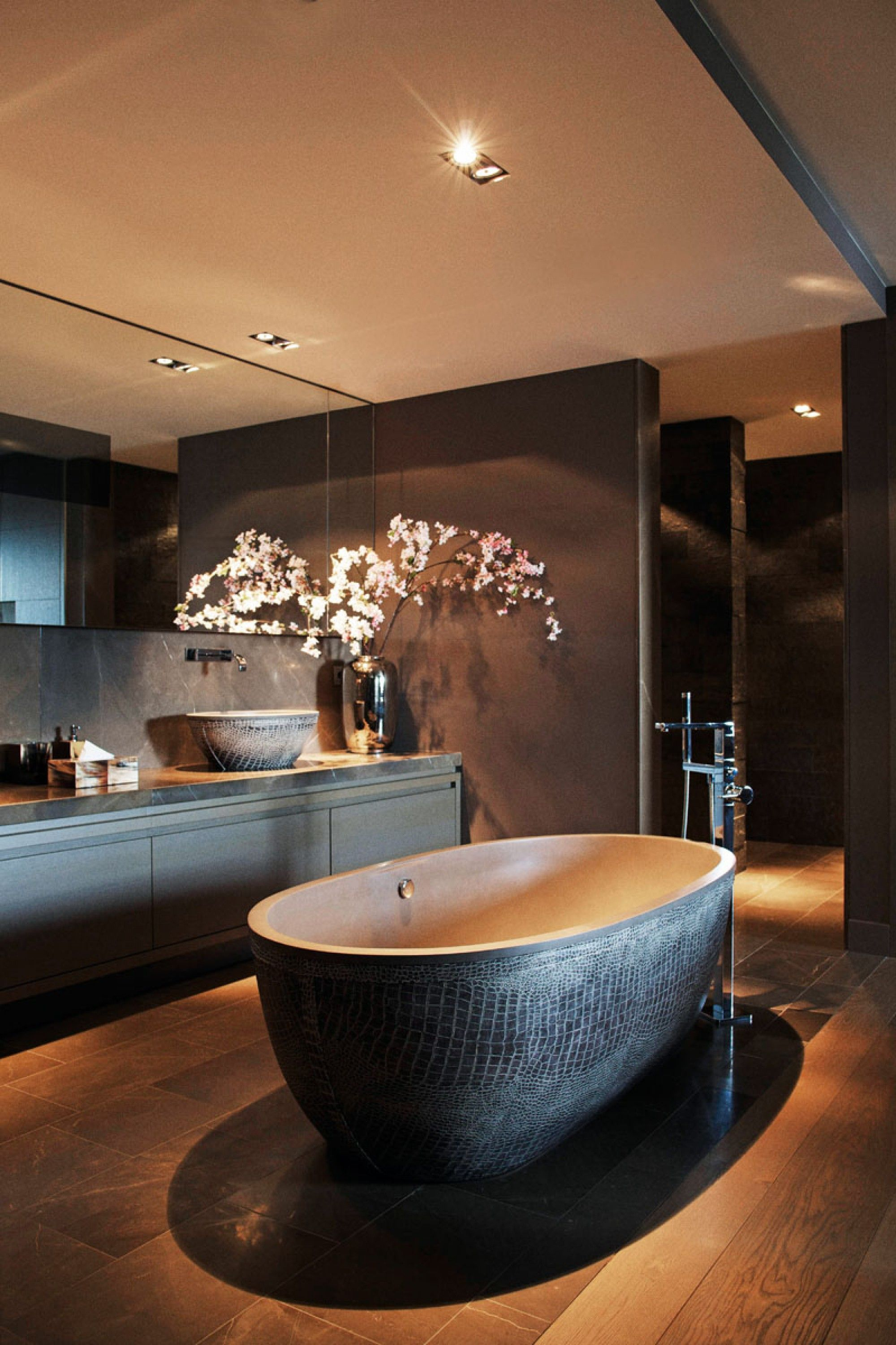 With an open floor plan a Free Standing Tub could be the perfect fit for your Bathroom Remodel