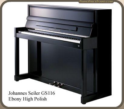 Johannes Seiler GS116 Upright Piano | Piano Brands & Models | Piano