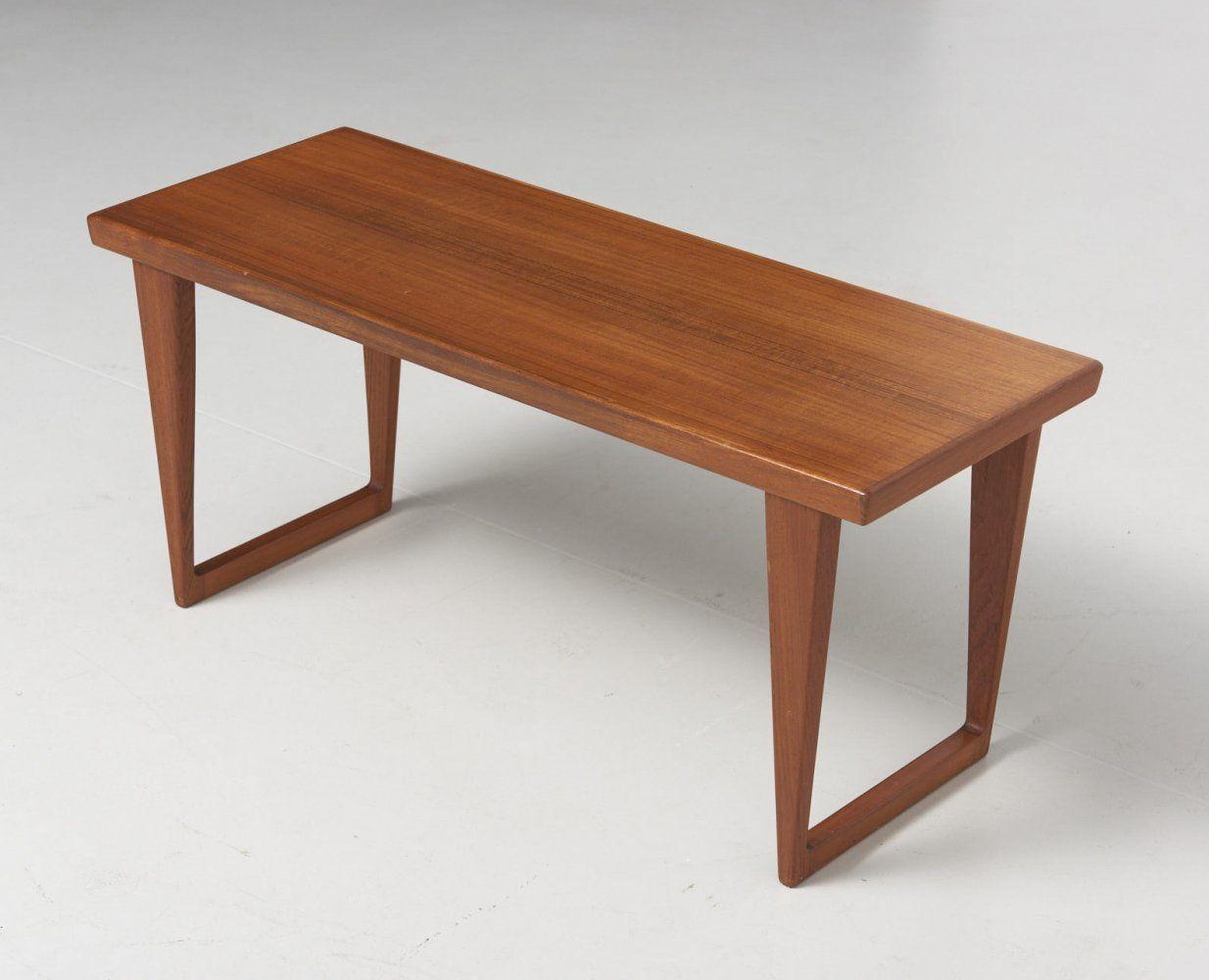 For Sale Model N 35 Side Table In Teak By Kai Kristiansen In 2020 Teak Side Table Kai Kristiansen