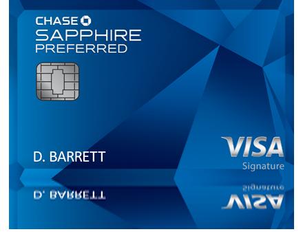 Chase Sapphire Preferred Chase Sapphire Preferred Chase Sapphire Chase Freedom