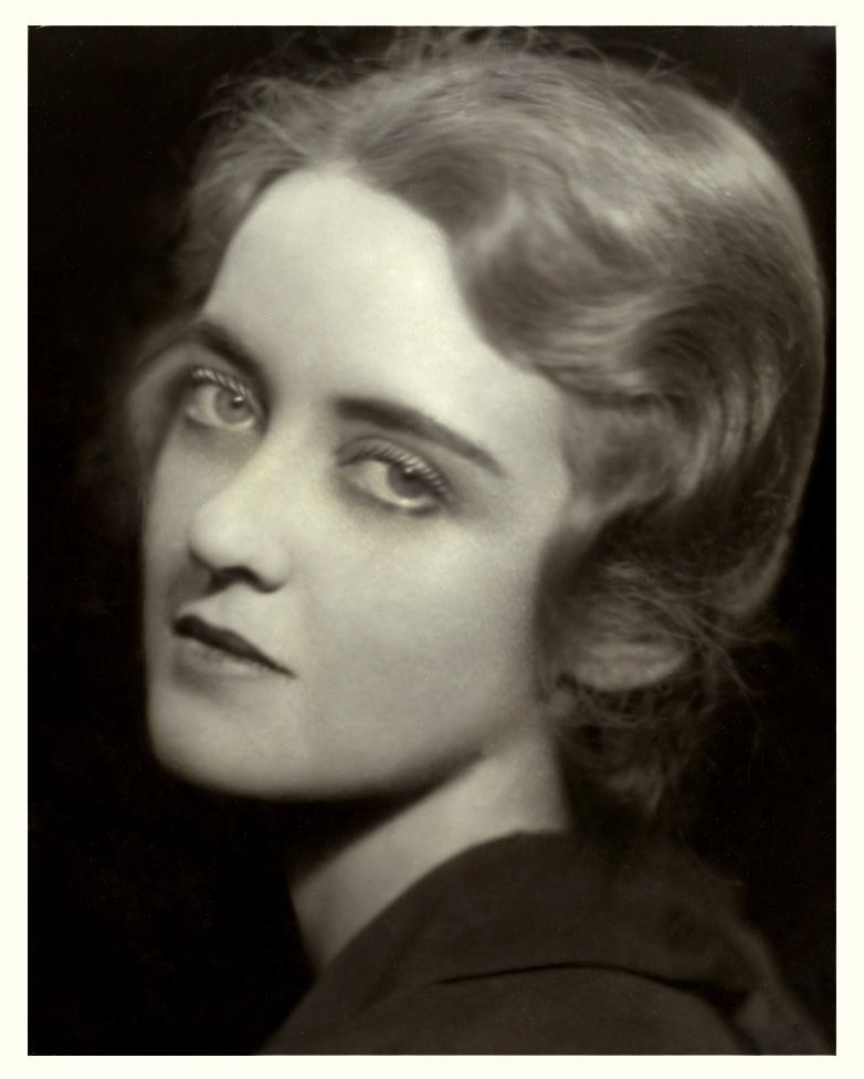 very young Bette Davis