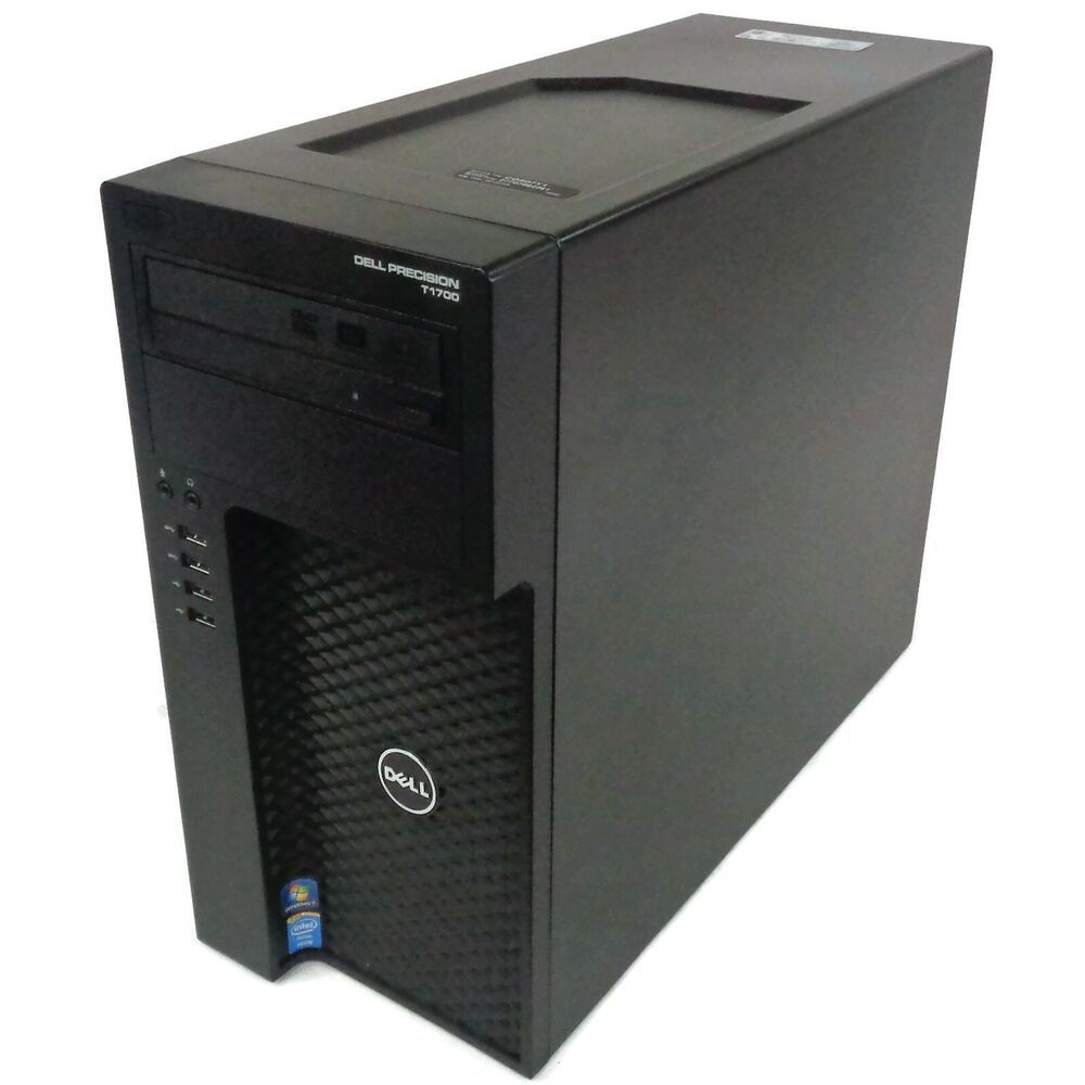 Ebay Sponsored Dell Precision T1700 Mid Tower Quad Core I7 4790 3 6ghz 32gb Ram Quad Locker Storage