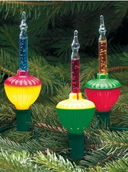 Bubble Lights For Christmas Tree This Is The First Place I Ve Found Them Where You Can Buy Them New And There Histoire De Noel Decoration Noel Noel Vintage