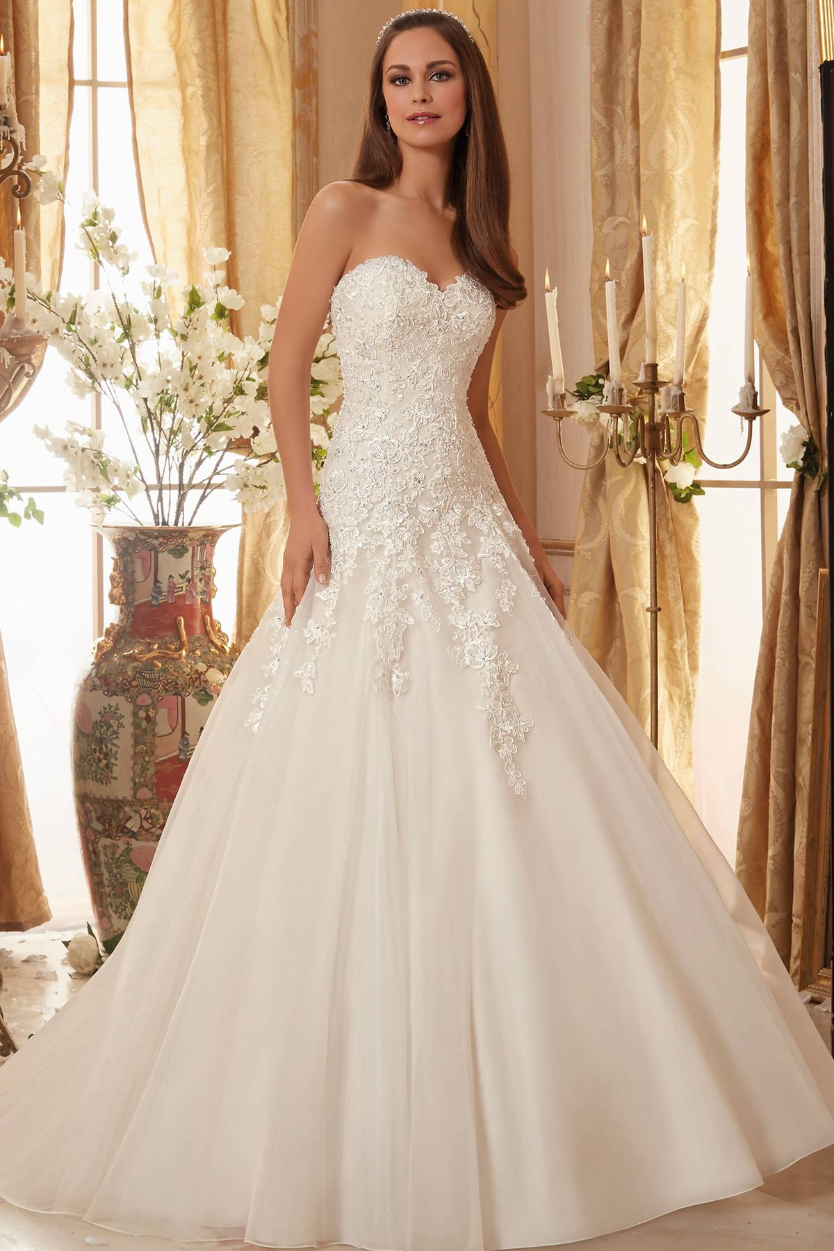 Lace dress styles for wedding  Pin by AudoraBelle Bridal on Blu by Madeline Gardner  Pinterest