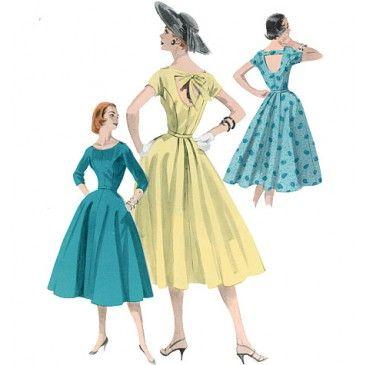 Butterick Misses Dress Sewing Pattern 5605 Seamstress