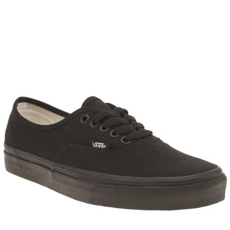 black van trainers