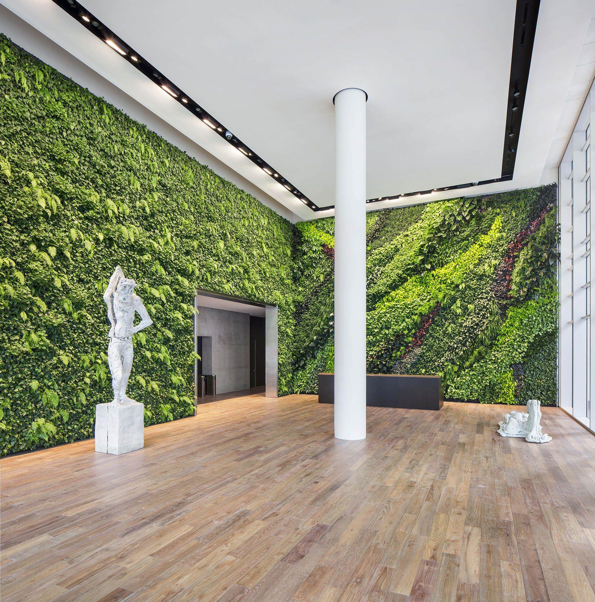 Foundry III Living Wall, 505 Howard St. Green Wall - Habitat ...