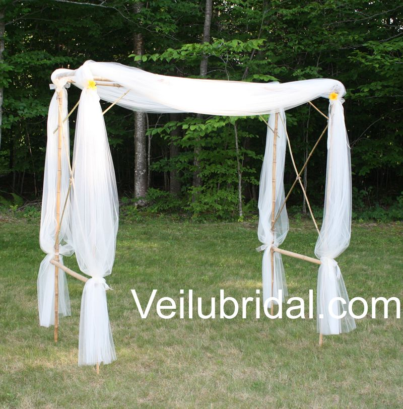 make a bamboo canopy for a beach wedding - Bamboo Canopy 2015