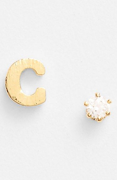 Initial Stud Earrings Tai Jewelry Necklaces Bracelets Box Accessories
