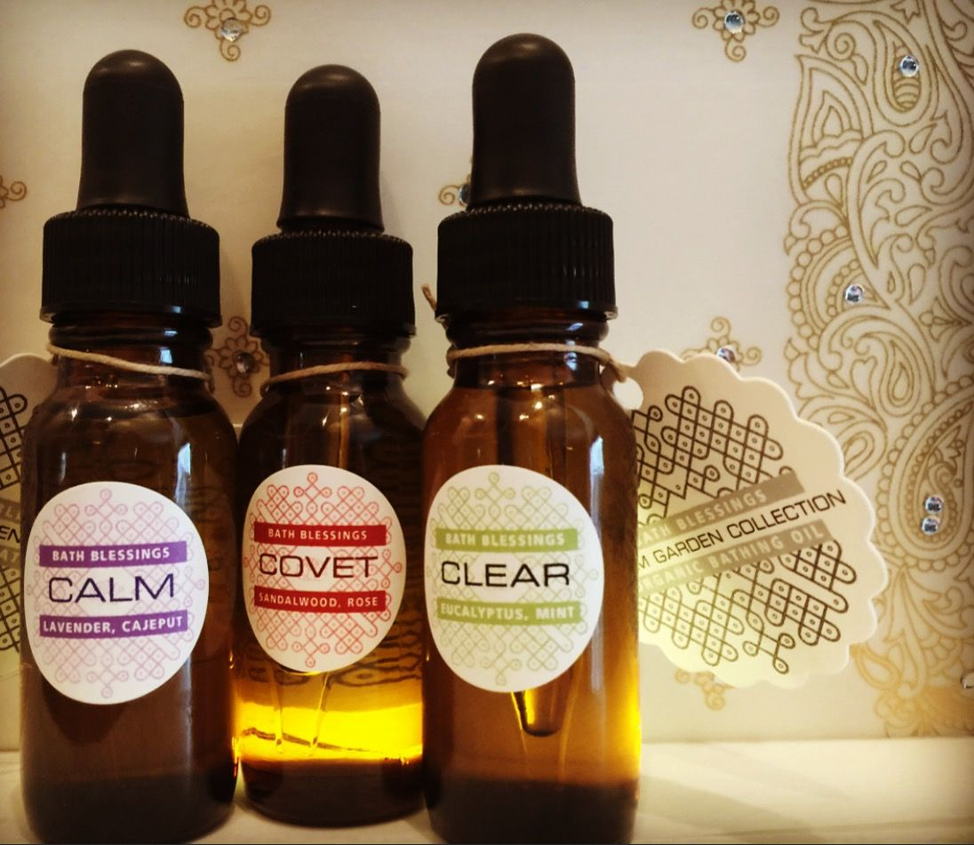 A trio of magical aromatherapy bath oils just in time for the colder months!